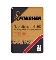 Пескобетон Finisher М-300 25 кг